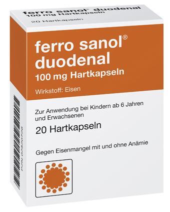 ferro sanol duodenal 100 mg Hartkapseln