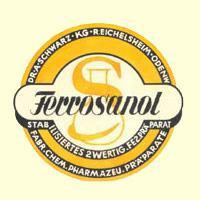 Logo Ferro Sanol Schwarz Pharma