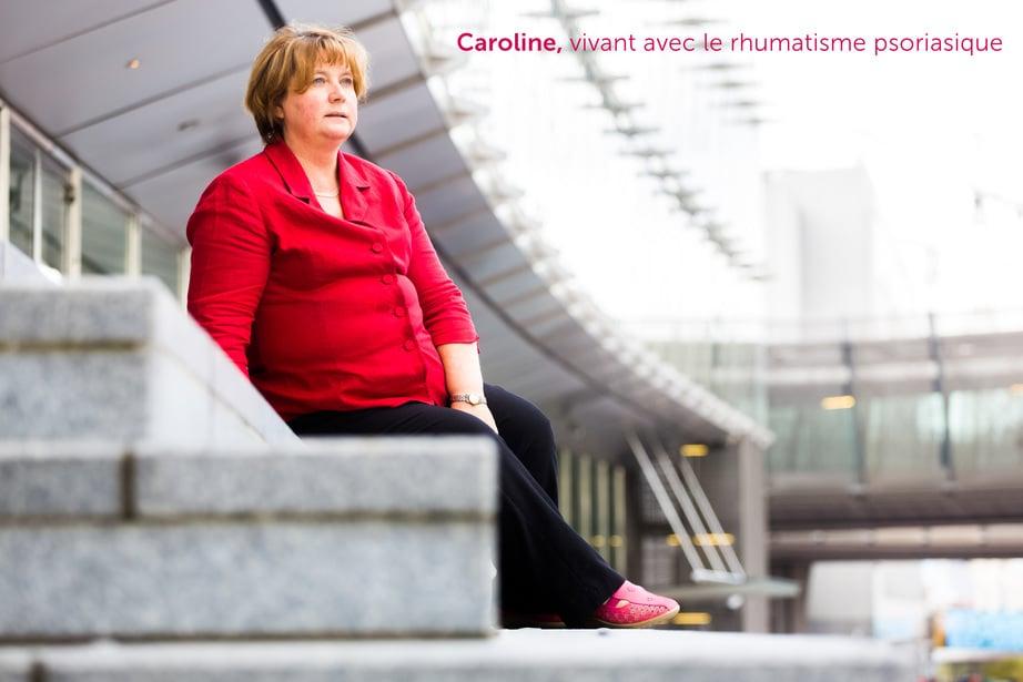 Caroline, vivant avec le rhumatisme psoriasique